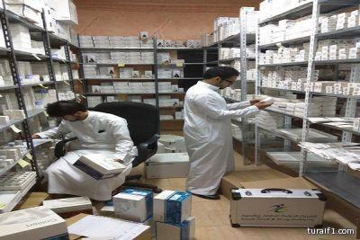 """""""الغذاء والدواء"""" تعلن ضبط 1489 جهازاً ومنتجاً طبياً مخالفاً بفيلا سكنية في جدة"""