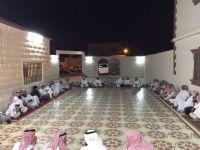 بالصور..سعود العرصان يحتفل بالشاعر خالد البرمان