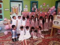 بالصور..الروضة الاولى بطريف تحتفل بطلابها في اليوم الختامي للعام الدراسي