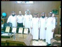 مدرسة عبدالله بن مسعود بطريف تحتفل بالذهب بعد حصولها على المستوى الذهبي للعام الثاني على التوالي