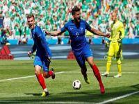 غريزمان يقود فرنسا إلى ربع نهائي كأس أوروبا بالفوز على أيرلندا بثنائية