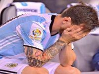 """""""ميسي"""" يعتزل اللعب الدولي عقب خسارة الأرجنتين في نهائي كوبا أمريكا أمام تشيلي"""