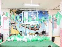 بالصور..مدرسة نادي الحي بالثانوية الثالثة للبنات بطريف تحتفل بذكرى اليوم الوطني